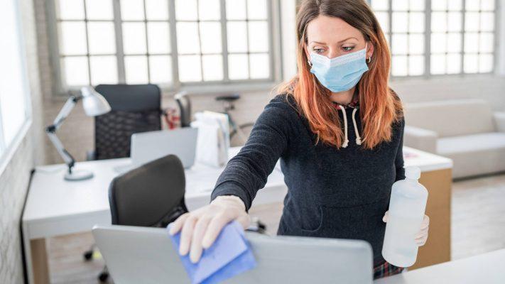 escritório pós pandemia